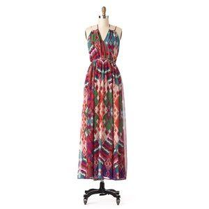 LIKE NEW - Anthropologie Petite Tatiana Maxi Dress